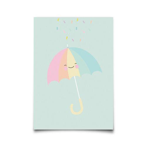 EEF lillemor / Pohlednice Umbrella