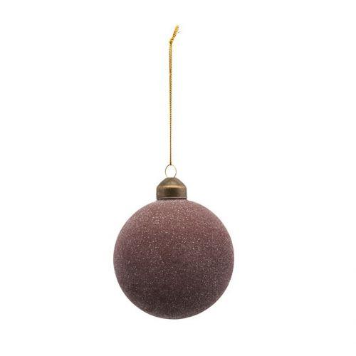 House Doctor / Vianočná ozdoba Glittery Plum