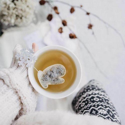 TEA HERITAGE / Zelený čaj s jazmínom Snowflakes Jasmine 5 ks