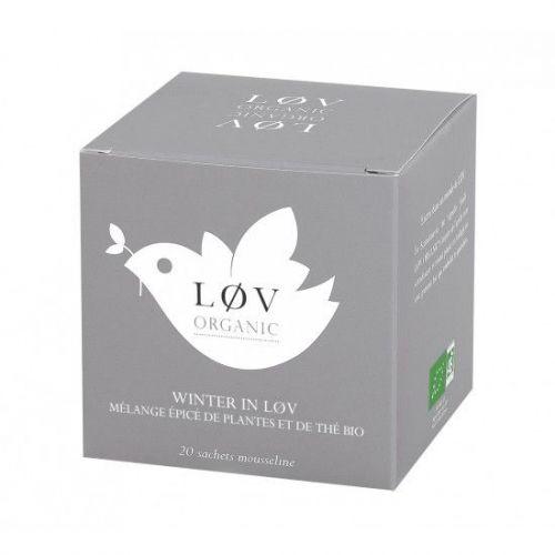 Løv Organic / Čierný čaj Winter In Løv - 20 sáčkov - špeciálna cena