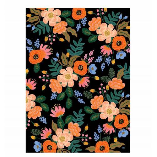 Rifle Paper Co. / Baliaci papier s kvetinami Bordeaux - 1 list