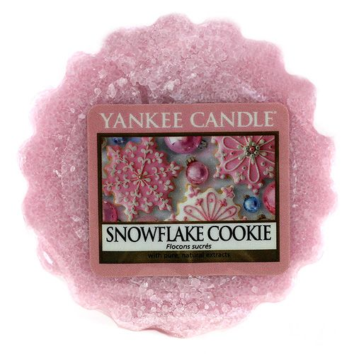 Yankee Candle / Vosk do aromalampy Yankee Candle - Snowflake Cookie