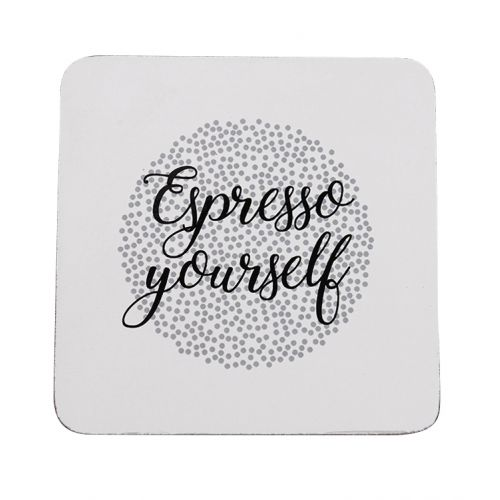Krasilnikoff / Podložka pod hrnček Espresso Yourself