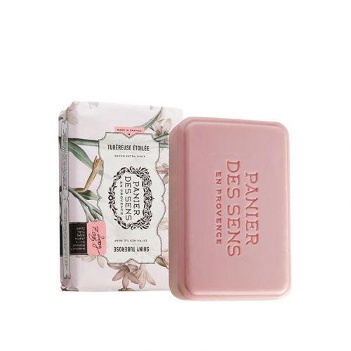 Panier des Sens / Extra jemné rastlinné mydlo Shiny Tuberose 200g