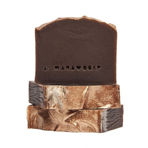 Almara Soap / Prírodné mydlo Gold Chocolate