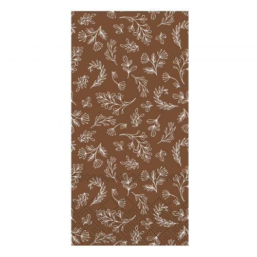 Chic Antique / Papierové servítky Leaves Walnut 16 ks