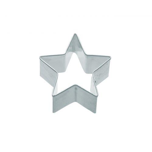 Kitchen Craft / Nerezová formička - hviezda 5 cm