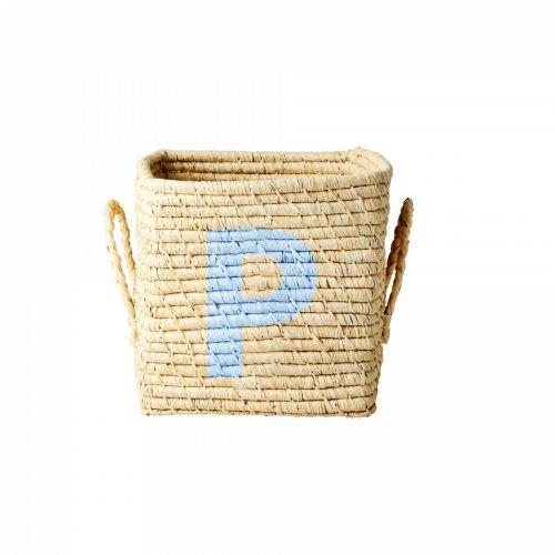 rice / Úložný košík Raffia Small - P