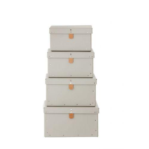 ferm LIVING / Kartónový box Grey