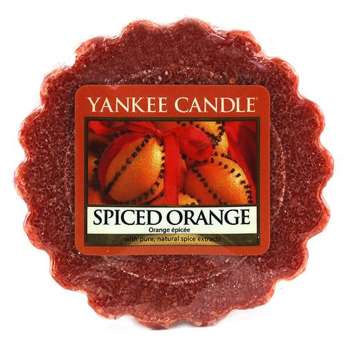 Yankee Candle / Vosk do aromalampy Yankee Candle - Spiced Orange