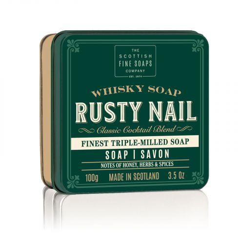 SCOTTISH FINE SOAPS / Mydlo v plechovej krabičke Rusty Nail Cocktail