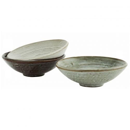 MADAM STOLTZ / Keramická miska Grey Stoneware