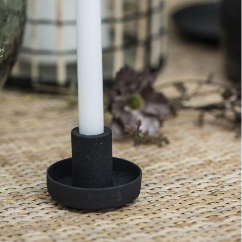 IB LAURSEN / Kovový svietnik Black ⌀ 5 cm
