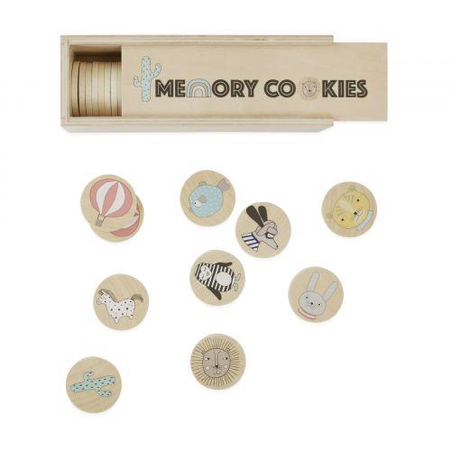 OYOY / Drevené pexeso v krabičke Cookies