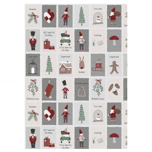 IB LAURSEN / Baliaci papier Nostalgic Christmas - 10 m (úzky)