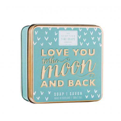SCOTTISH FINE SOAPS / Mydlo v plechovej krabičke Love you