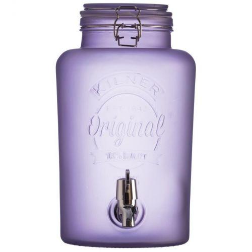 KILNER / Nádoba na limonádu KILNER Purple Frosted 5 l