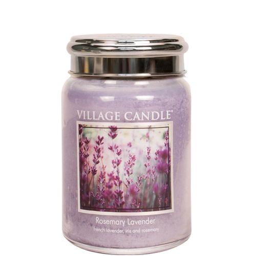 VILLAGE CANDLE / Sviečka Village Candle - Rosemary Lavender 602g