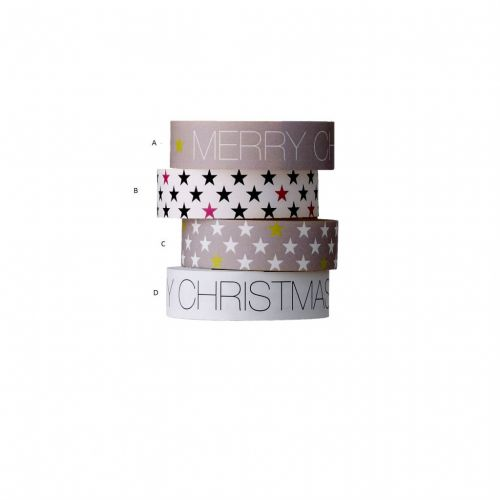 Bloomingville / Samolepící designová páska - Christmas