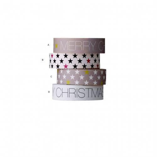 Bloomingville / Samolepiaca designová páska - Christmas