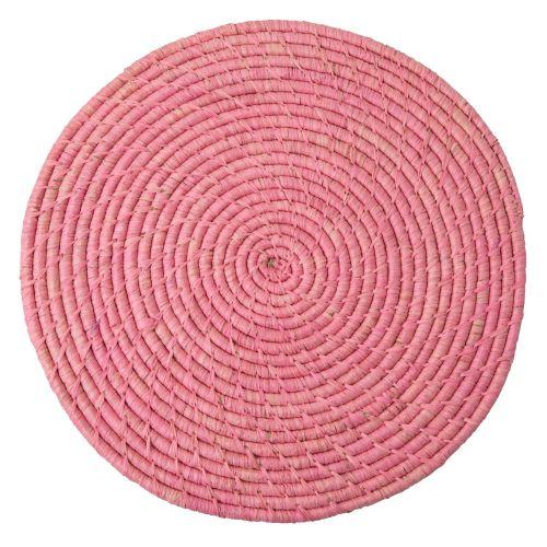 rice / Prestieranie Pink Raffia