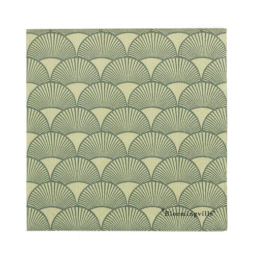 Bloomingville / Papierové obrúsky Green Paper
