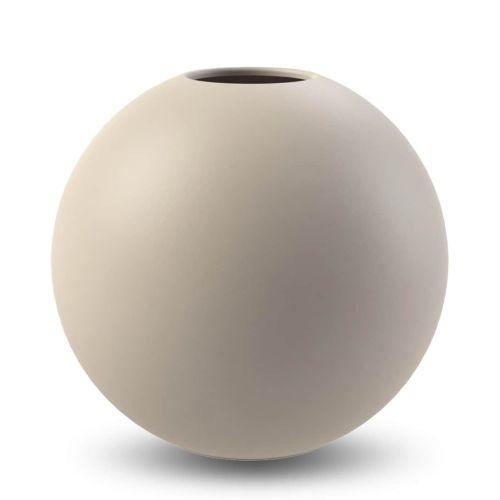 COOEE Design / Guľatá váza Ball Sand 20cm