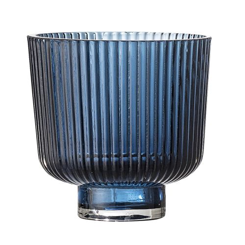 Bloomingville / Svietnik - Art Deco Bleu