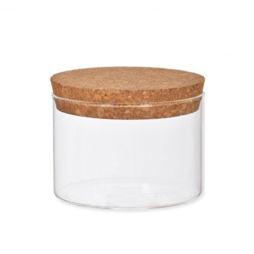 Garden Trading / Sklenená dóza Cork - 370 ml