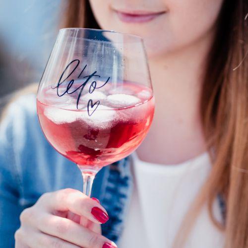 Bella Rose / Pohár na drink Léto ♥