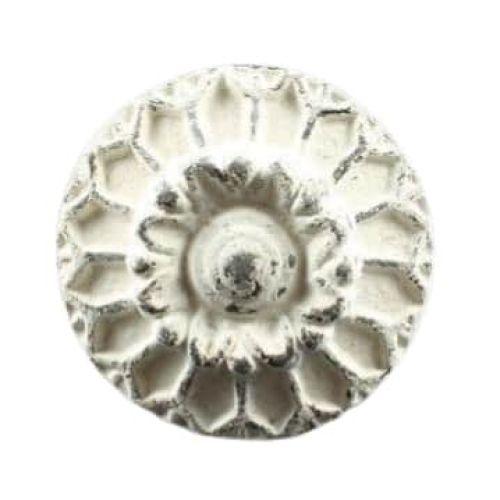 La finesse / Kovová úchytka Flower Silver