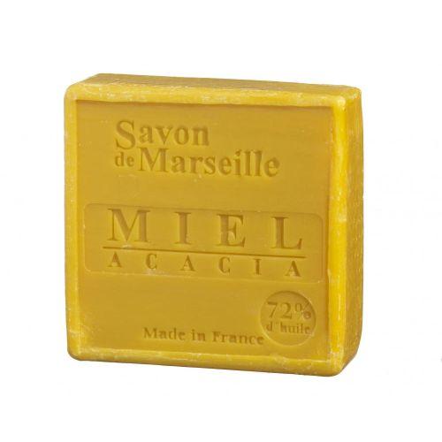 LE CHATELARD / Mýdlo Marseille 100 g čtverec - med a mimosa