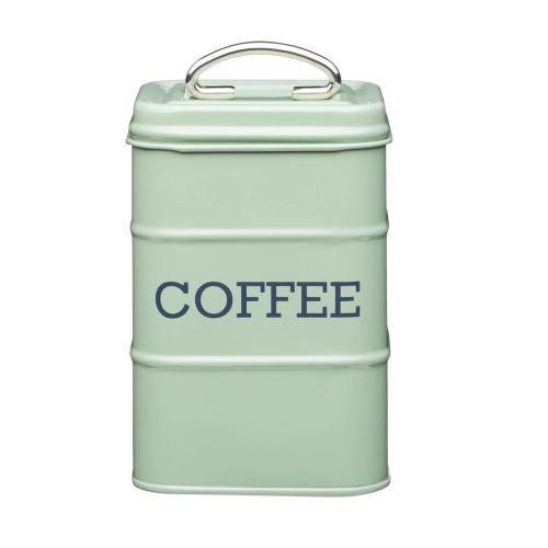 Kitchen Craft / Plechová dóza na kávu Sage green