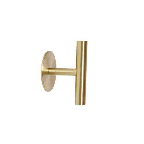 Hübsch / Kovový vešiak Brass Gold