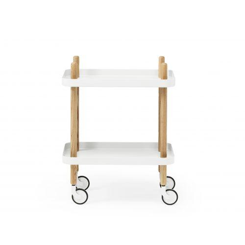 normann COPENHAGEN / Stolík na kolieskach White