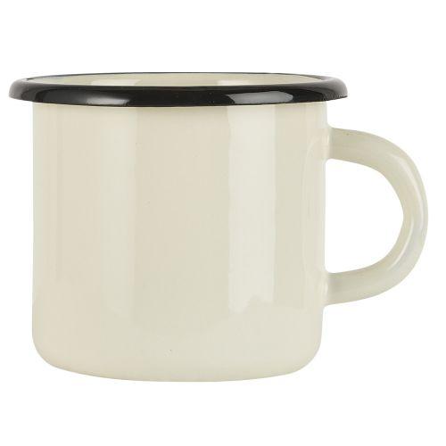 IB LAURSEN / Smaltovaný hrnček Butter Cream 400 ml