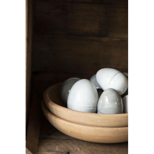IB LAURSEN / Dekoratívne kovové vajíčko Grey Egg