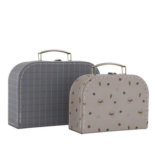 OYOY / Detský kufrík Mini Tiger Grid