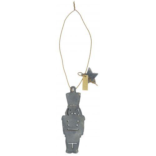 IB LAURSEN / Vianočná ozdoba Nutcracer & Golden Wire