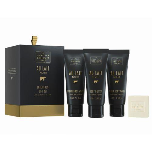SCOTTISH FINE SOAPS / Darčeková sada kozmetiky Au Lait Noir