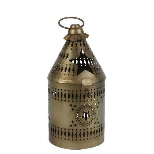 IB LAURSEN / Kovový lampáš Brass Stars 23 cm