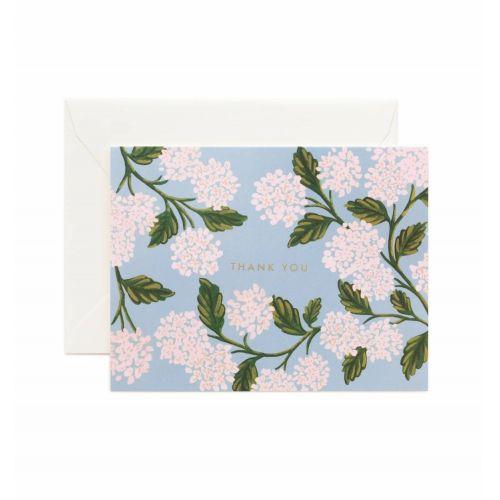 Rifle Paper Co. / Prianie s obálkou Thank You Hydrangea