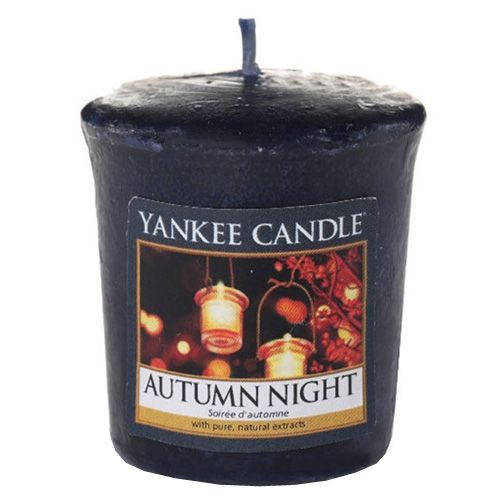 Yankee Candle / Votívna sviečka Yankee Candle - Autumn Night