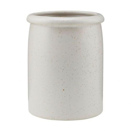 House Doctor / Porcelánová nádoba Pion Grey/White 15 cm