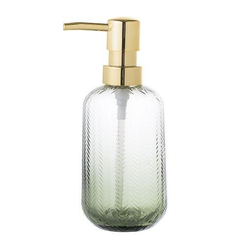 Bloomingville / Sklenený dávkovač mydla Green