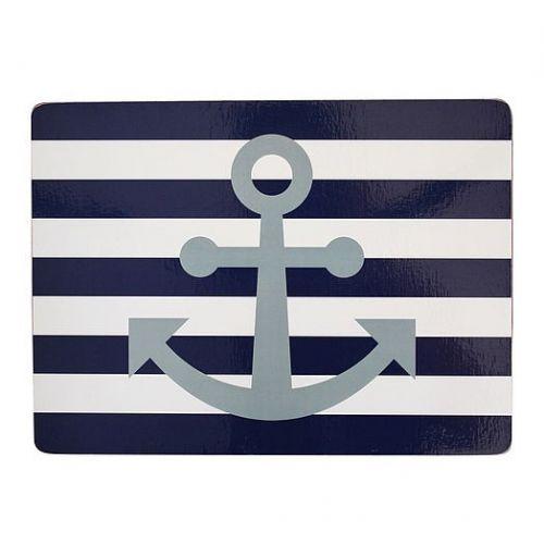 Krasilnikoff / Korkové prestieranie Navy Blue