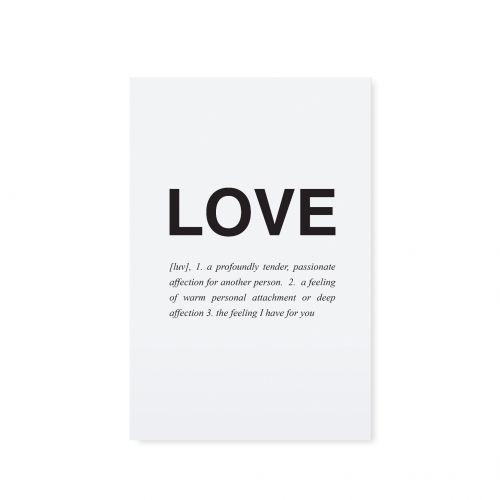 TAFELGUT / Pohľadnica Love - staré