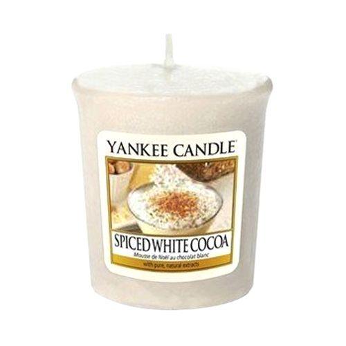 Yankee Candle / Votívna sviečka Yankee Candle - Spiced White Cocoa