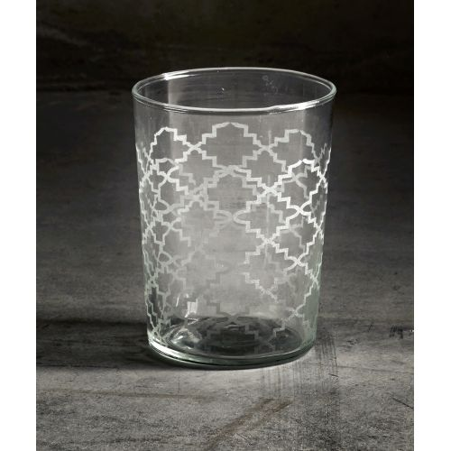 Tine K Home / Dizajnový pohár s vypieskovaným vzorom