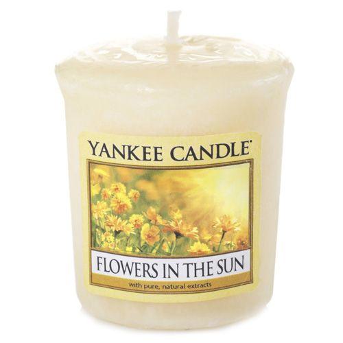 Yankee Candle / Votívna sviečka Yankee Candle - Kvetiny na slnku